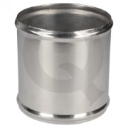 Acople aluminio,D35 L75