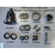 Diferencial autoblocante a discos Renault JC5