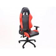 Silla oficina FK Liverpool negro/rojo
