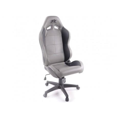 Silla oficina Pro Sport gris/negro