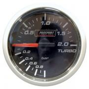 Manómetro Prosport Presión Turbo