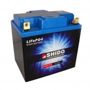 Batería Litio 30A Shido 166X126X175mm 2kg