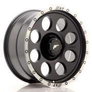 Japan Racing JRX4 18x9 ET0-20 6H BLANK Matt Black w/Machined Lip