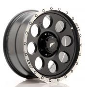 Japan Racing JRX4 18x9 ET20 6x139.7 Matt Black w/Machined Lip