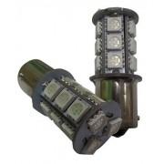 BOMBILLAS 1 POLO CENTRAD. 12V LED AMBAR CANBUS (PAREJA)