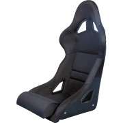 Asiento deportivo BS8 - Black - Respaldo en fibra , no reclinable