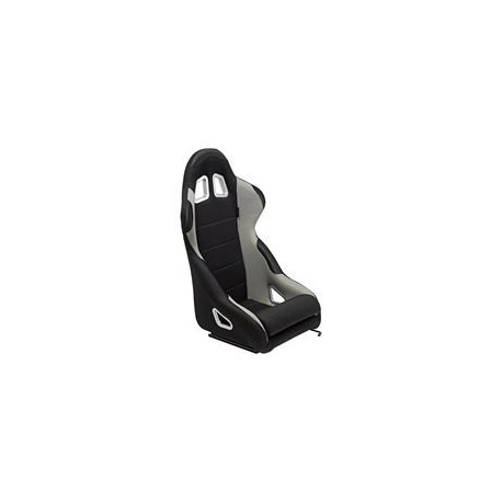 Asiento deportivo K5 - Black/Grey - No-reclinable back-rest - incl. correderas